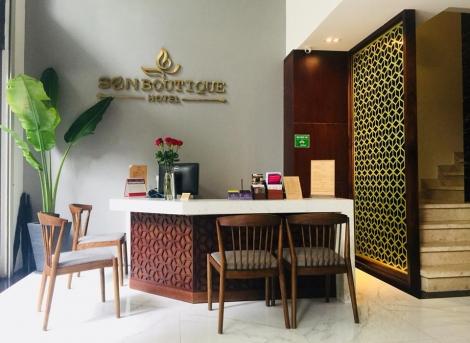 Bàn giao công trình dự án khách sạn Sen Boutique