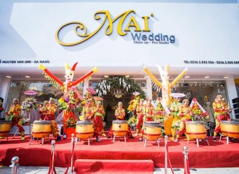 Khai trương showroom Mai Wedding